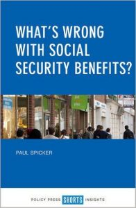 What's wrong with social security benefits?: Book cover